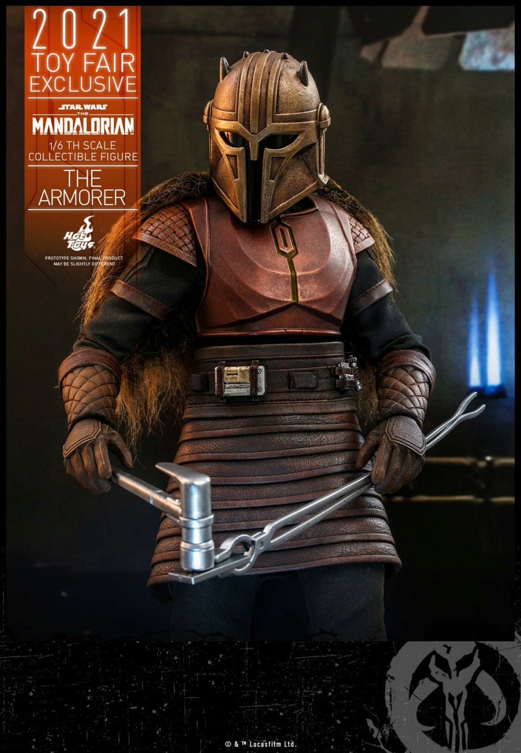 The Armorer Collectible Figure - 1/6th scale - Hot Toys The_ar20