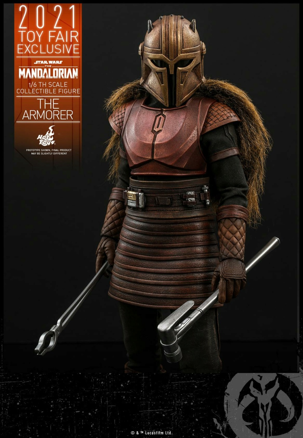 The Armorer Collectible Figure - 1/6th scale - Hot Toys The_ar21
