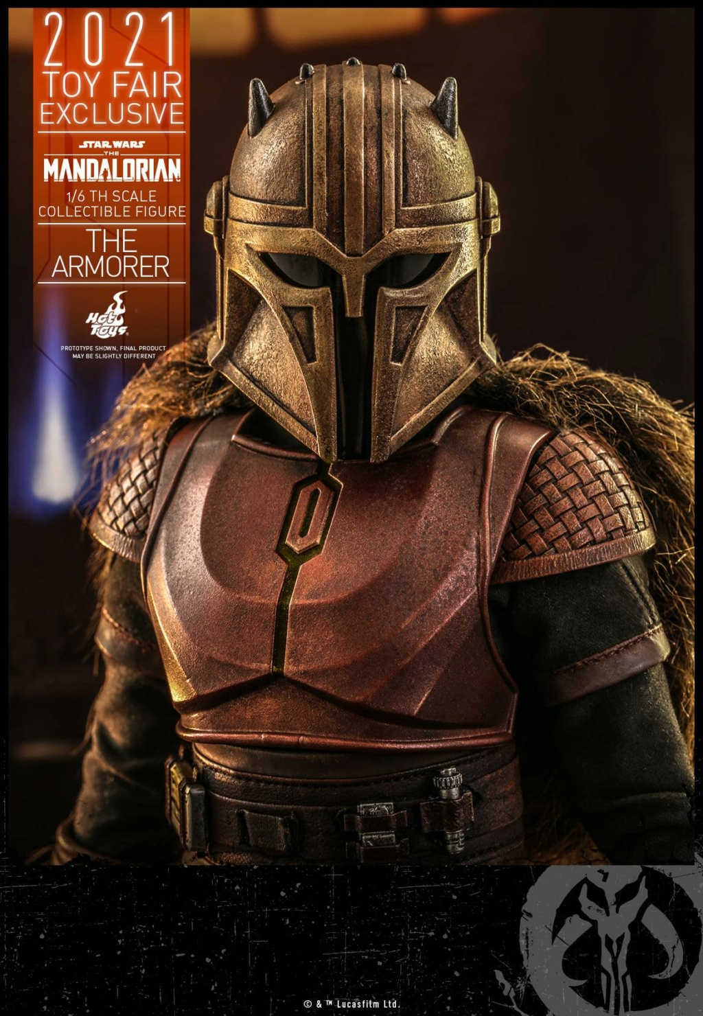 The Armorer Collectible Figure - 1/6th scale - Hot Toys The_ar22