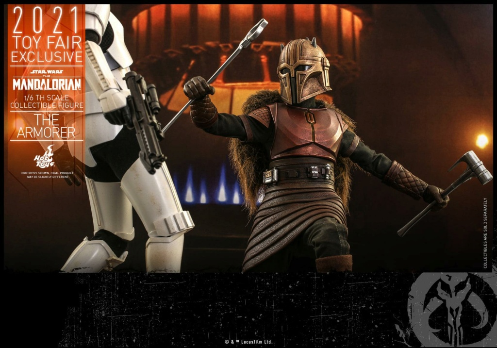 The Armorer Collectible Figure - 1/6th scale - Hot Toys The_ar25