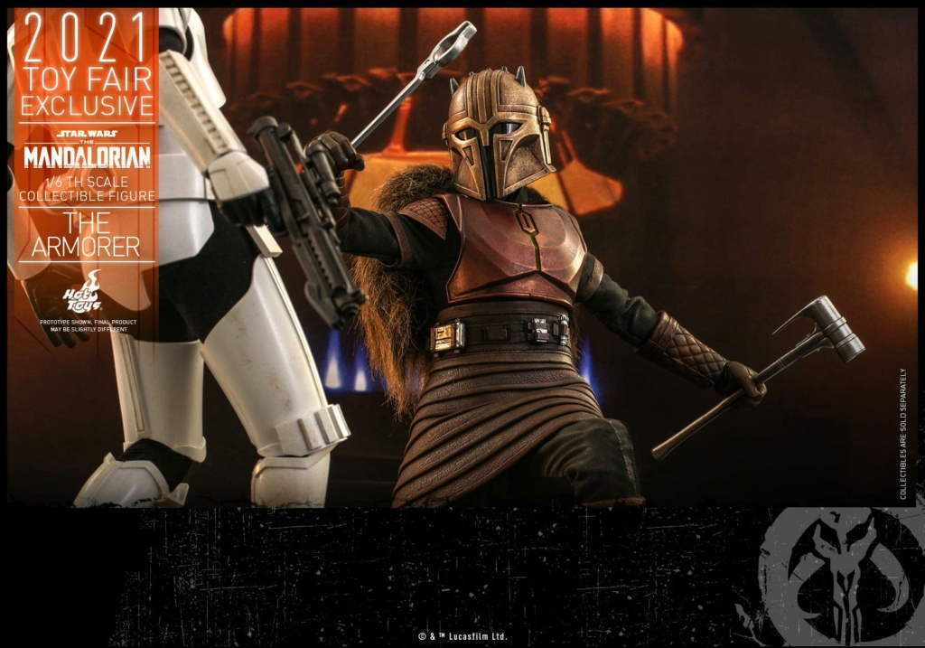 The Armorer Collectible Figure - 1/6th scale - Hot Toys The_ar26
