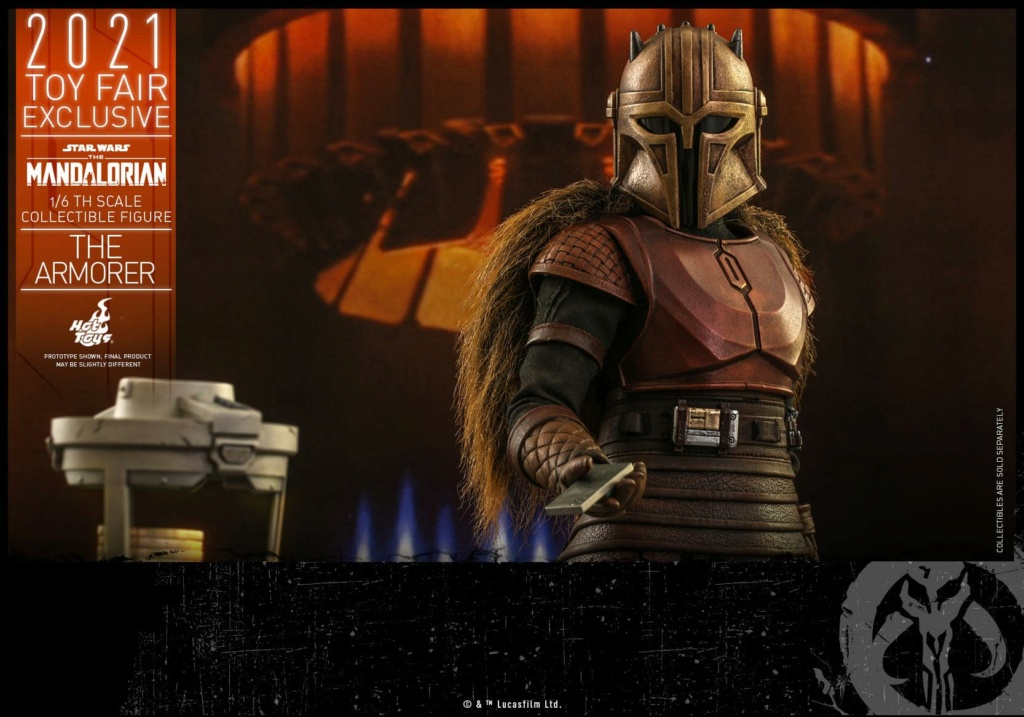 The Armorer Collectible Figure - 1/6th scale - Hot Toys The_ar27