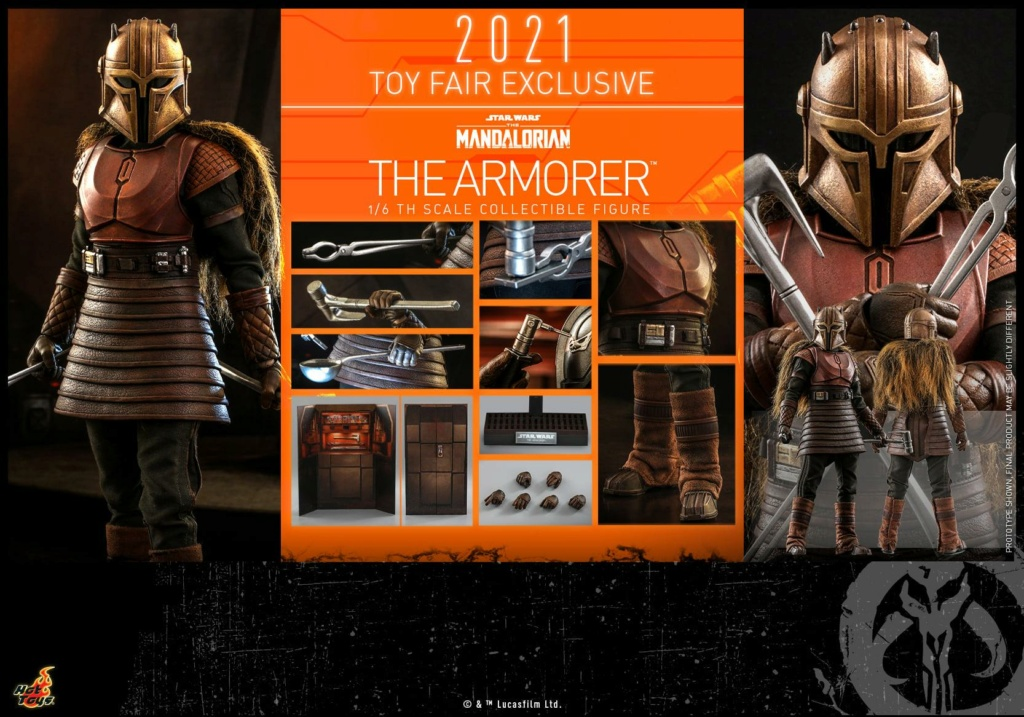 The Armorer Collectible Figure - 1/6th scale - Hot Toys The_ar28