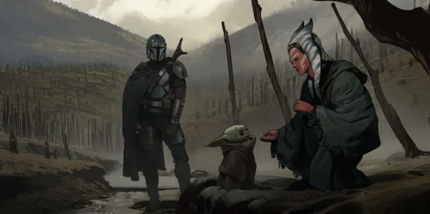 Star Wars Tout l'Art de Star Wars The Mandalorian - Saison 2 The_ar30