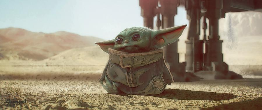 The Child - Artwork Star Wars - ACME Archives The_ch28