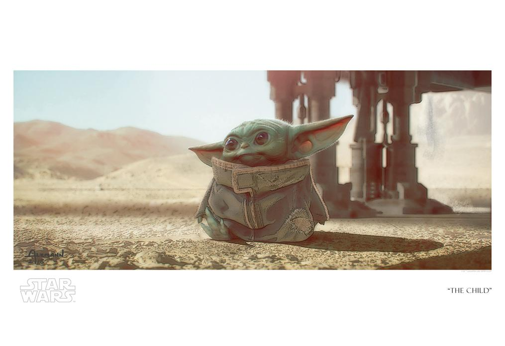 The Child - Artwork Star Wars - ACME Archives The_ch29