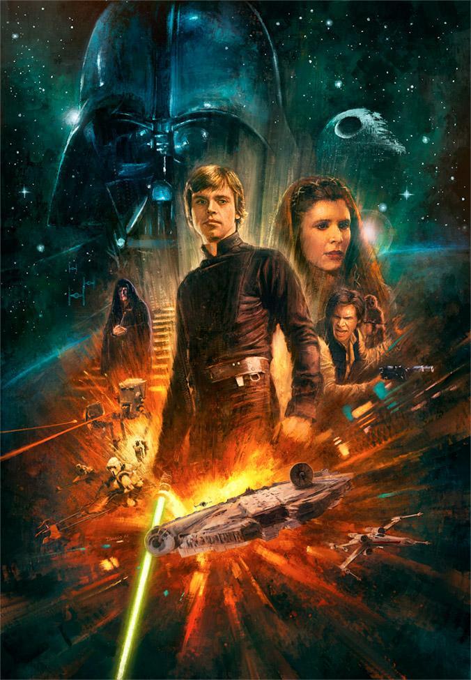 The Destiny of a Jedi - Artwork Star Wars - ACME Archives  The_de10