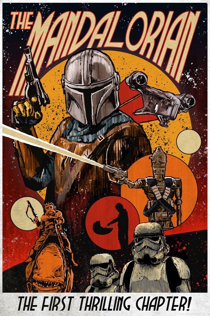 The First Thrilling Chapter - The Mandalorian - ACME/DarkInk The_fi10