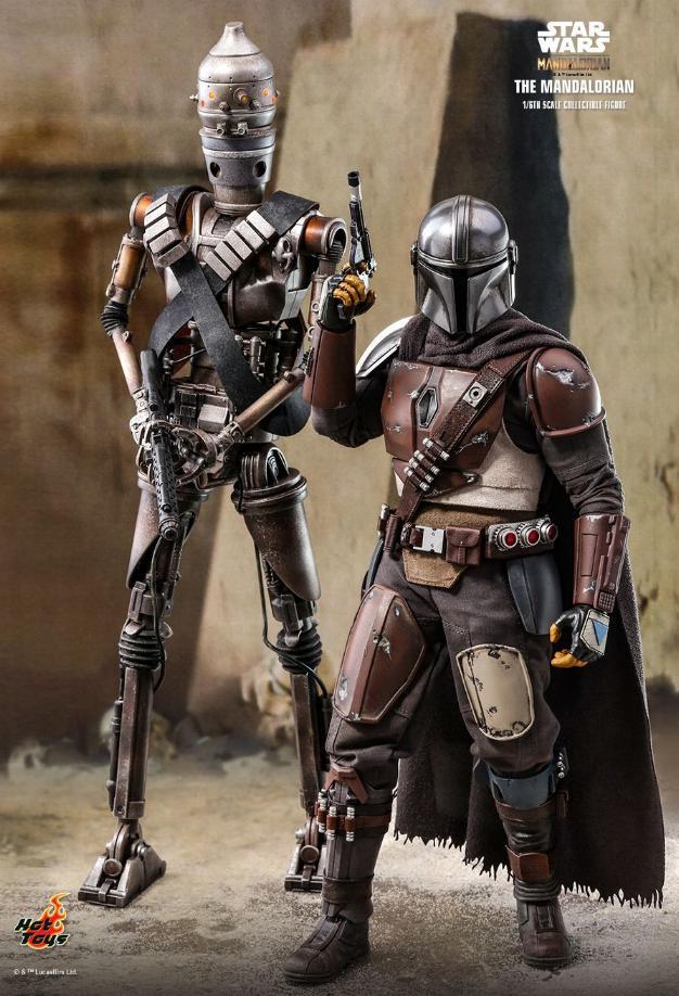 The Mandalorian 1/6 Scale Figure - Hot Toys Star Wars  The_ma11