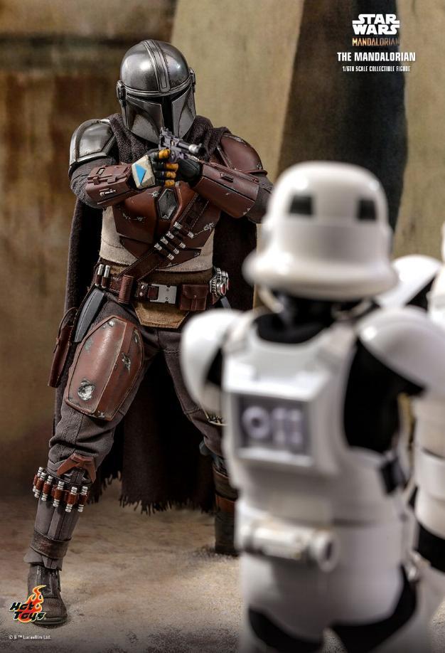 The Mandalorian 1/6 Scale Figure - Hot Toys Star Wars  The_ma12