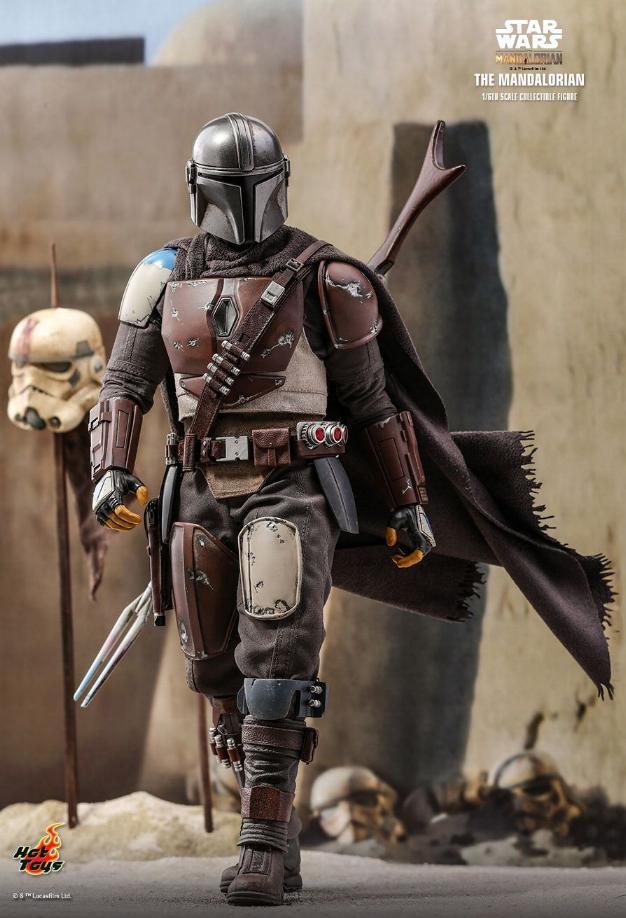 The Mandalorian 1/6 Scale Figure - Hot Toys Star Wars  The_ma13
