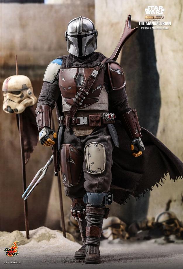 The Mandalorian 1/6 Scale Figure - Hot Toys Star Wars  The_ma15