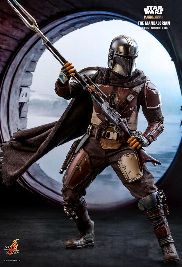 The Mandalorian 1/6 Scale Figure - Hot Toys Star Wars  The_ma17