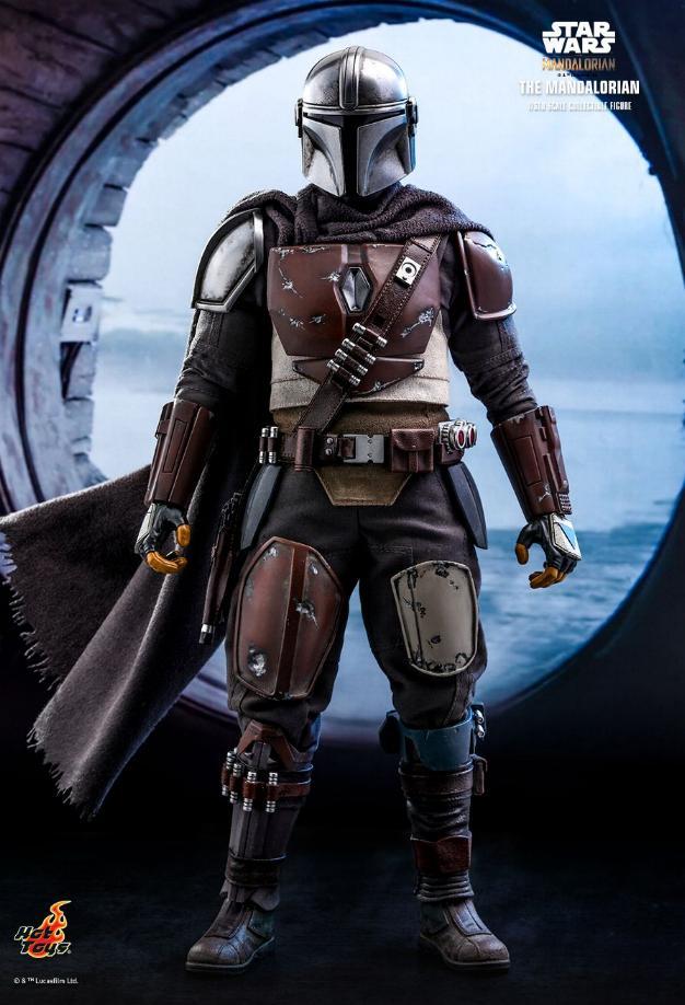 The Mandalorian 1/6 Scale Figure - Hot Toys Star Wars  The_ma18