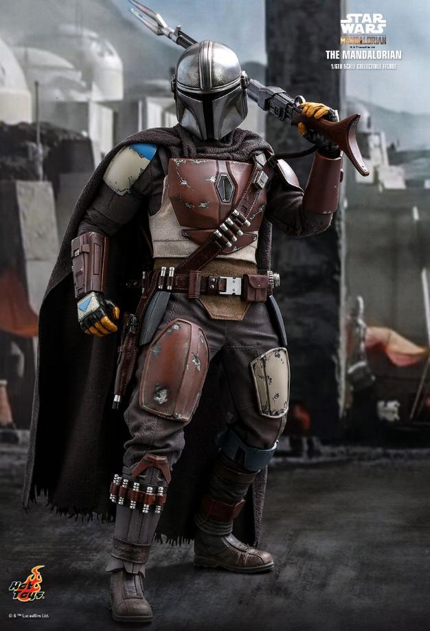 The Mandalorian 1/6 Scale Figure - Hot Toys Star Wars  The_ma20