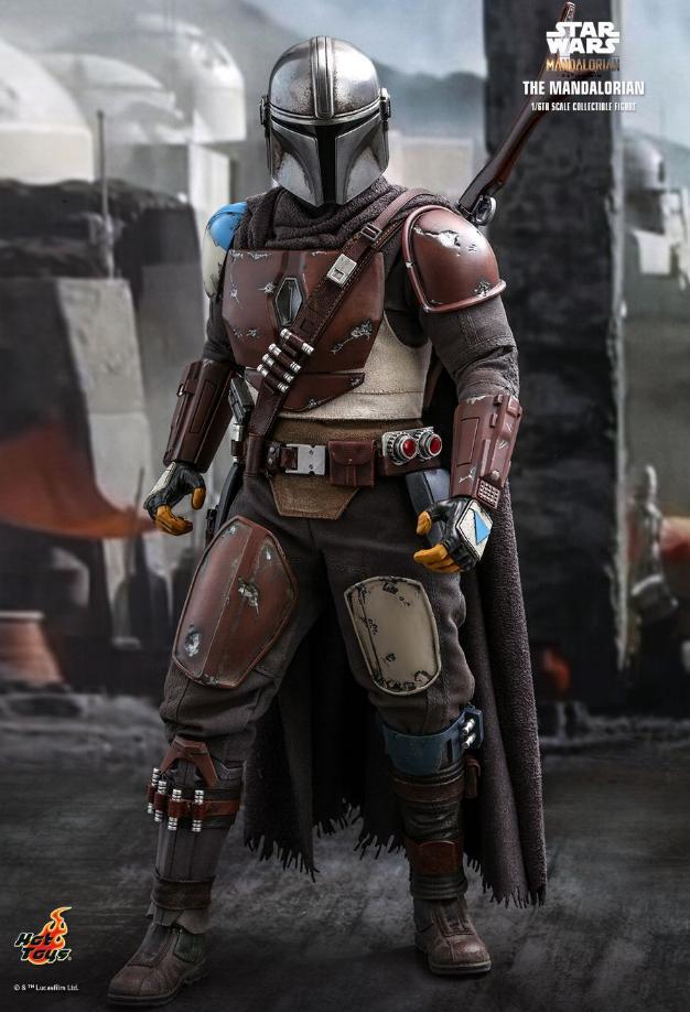 The Mandalorian 1/6 Scale Figure - Hot Toys Star Wars  The_ma21