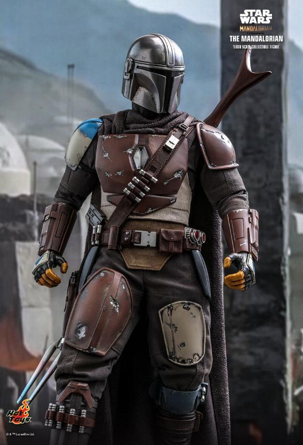 The Mandalorian 1/6 Scale Figure - Hot Toys Star Wars  The_ma22
