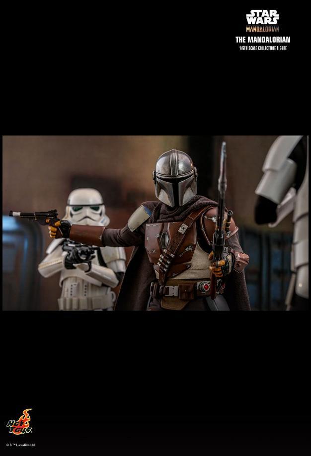 The Mandalorian 1/6 Scale Figure - Hot Toys Star Wars  The_ma28