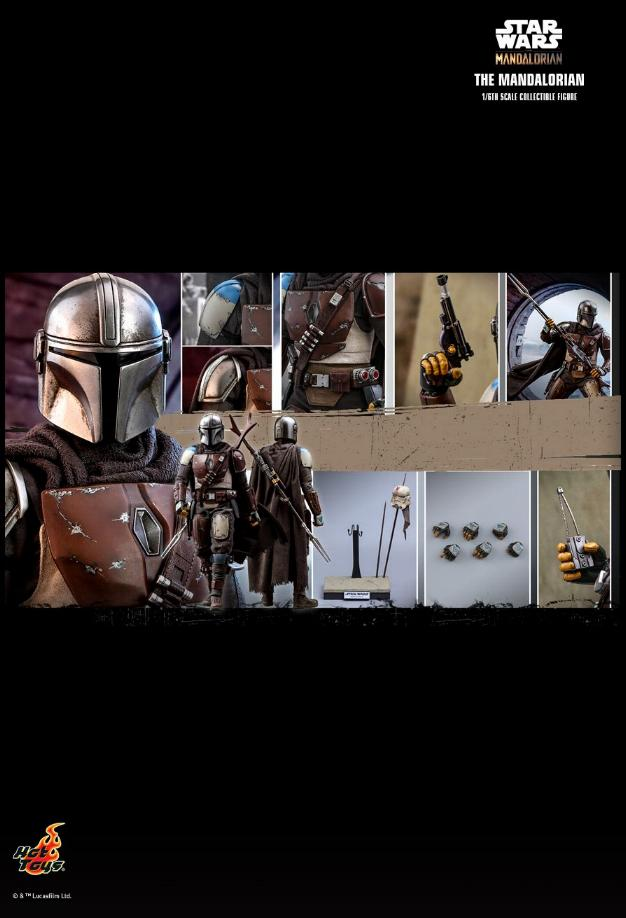 The Mandalorian 1/6 Scale Figure - Hot Toys Star Wars  The_ma34