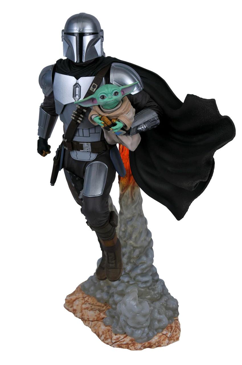 The Mandalorian & Child Milestone Statue - Gentle Giant The_ma44