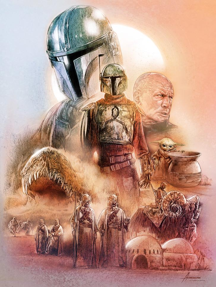 The Marshal of Mos Pelgo - Artwork Star Wars - ACME Archives The_ma47