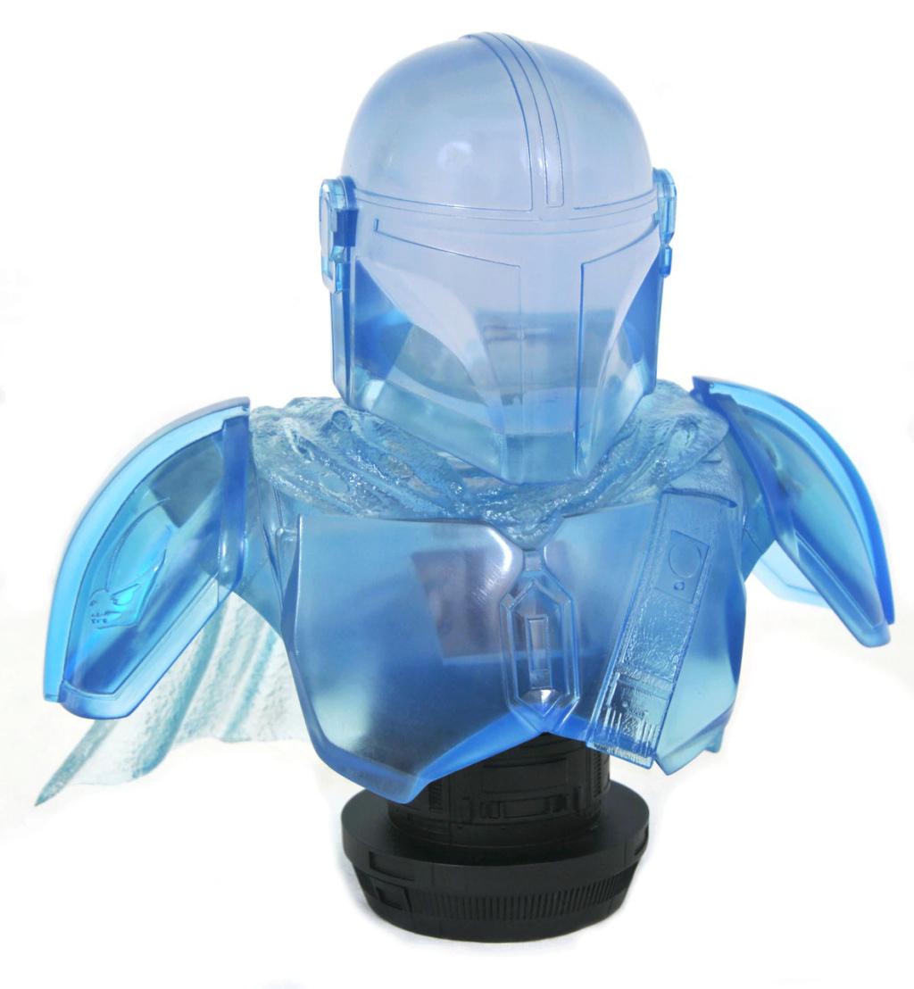 The Mandalorian hologram Legends 3D Bust - Gentle Giant The_ma57