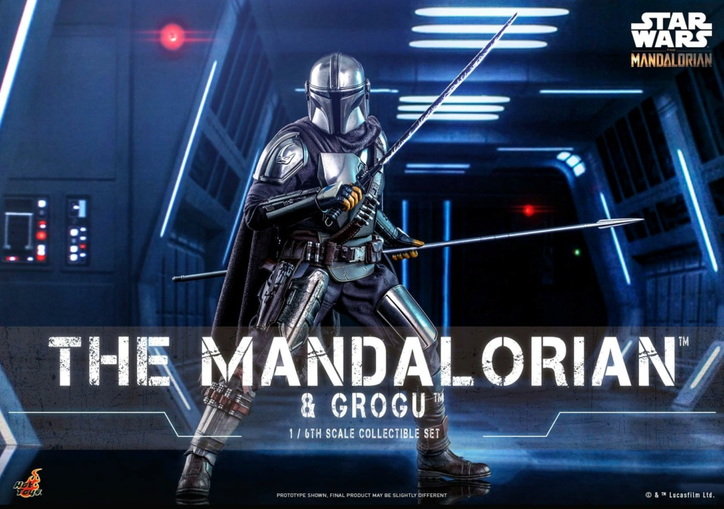 The Mandalorian and Grogu Collectible Set - Hot Toys The_ma58
