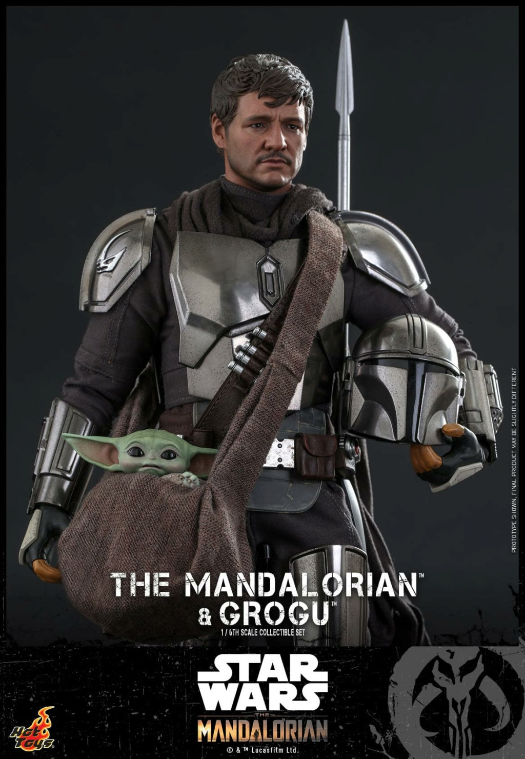 The Mandalorian and Grogu Collectible Set - Hot Toys The_ma60