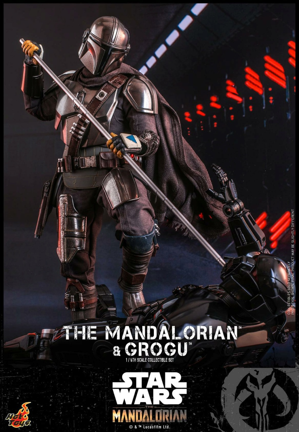 The Mandalorian and Grogu Collectible Set - Hot Toys The_ma61