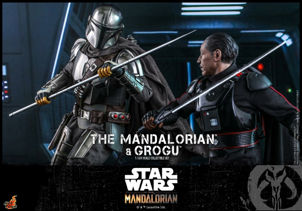 The Mandalorian and Grogu Collectible Set - Hot Toys The_ma62