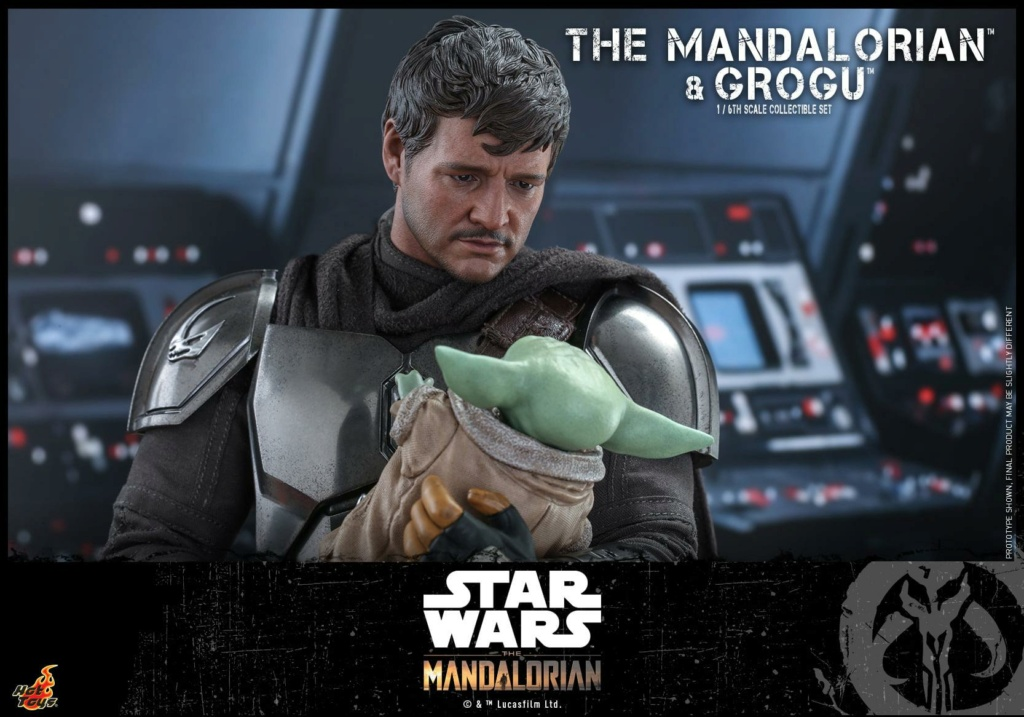 The Mandalorian and Grogu Collectible Set - Hot Toys The_ma65