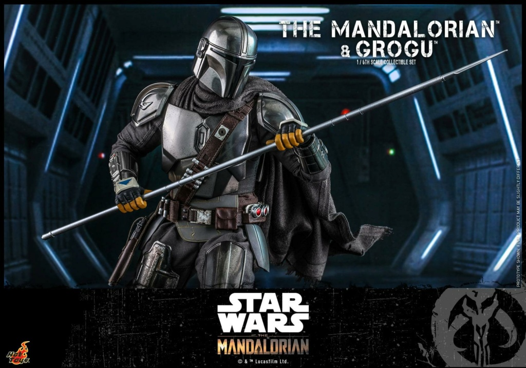 The Mandalorian and Grogu Collectible Set - Hot Toys The_ma66