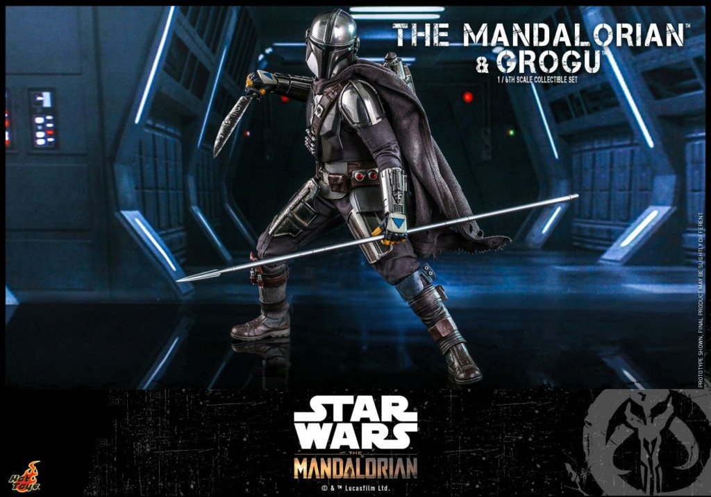 The Mandalorian and Grogu Collectible Set - Hot Toys The_ma67