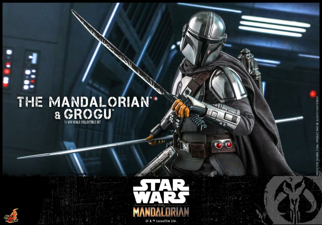 The Mandalorian and Grogu Collectible Set - Hot Toys The_ma69