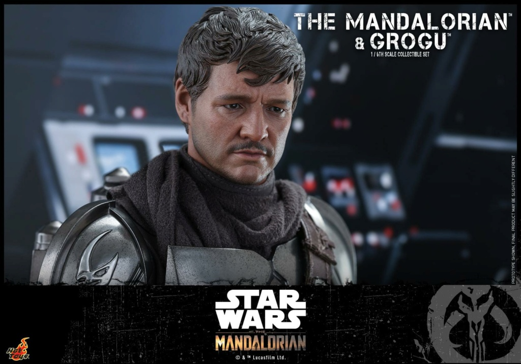 The Mandalorian and Grogu Collectible Set - Hot Toys The_ma70