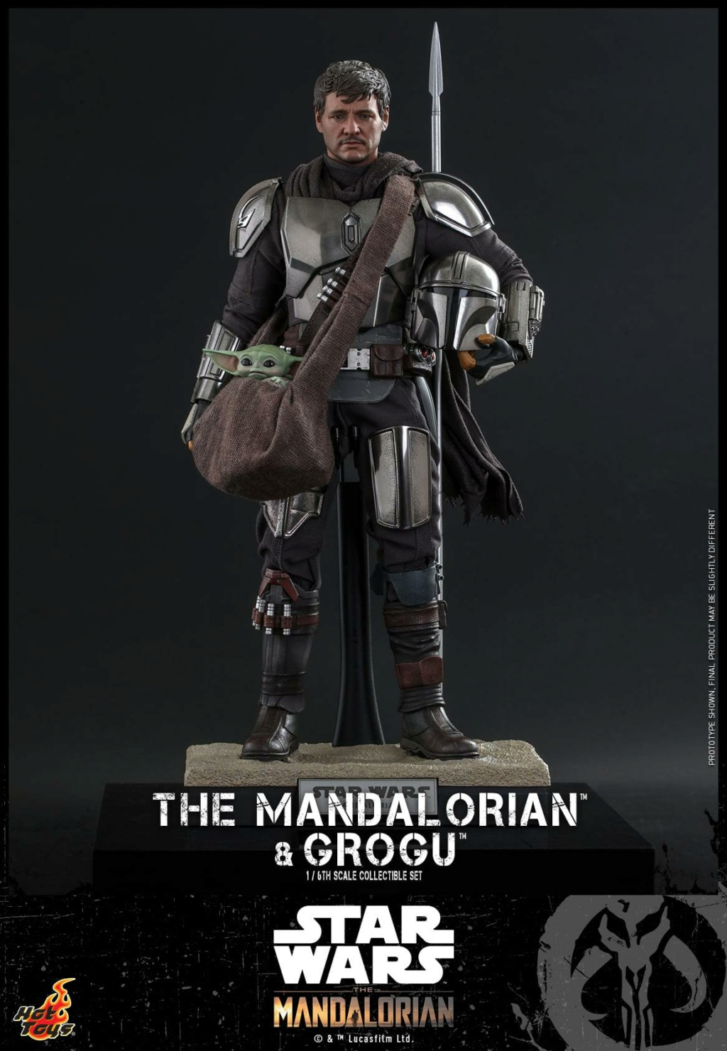 The Mandalorian and Grogu Collectible Set - Hot Toys The_ma71