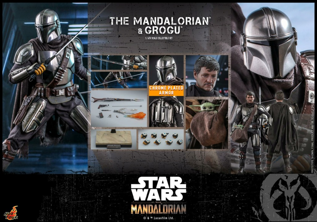 The Mandalorian and Grogu Collectible Set - Hot Toys The_ma72