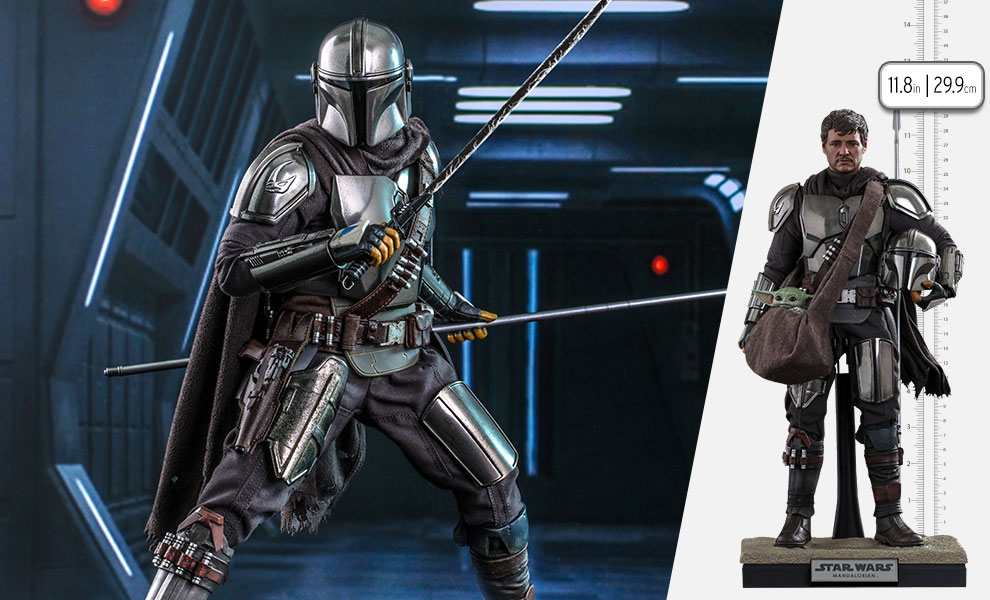 The Mandalorian and Grogu Collectible Set - Hot Toys The_ma94