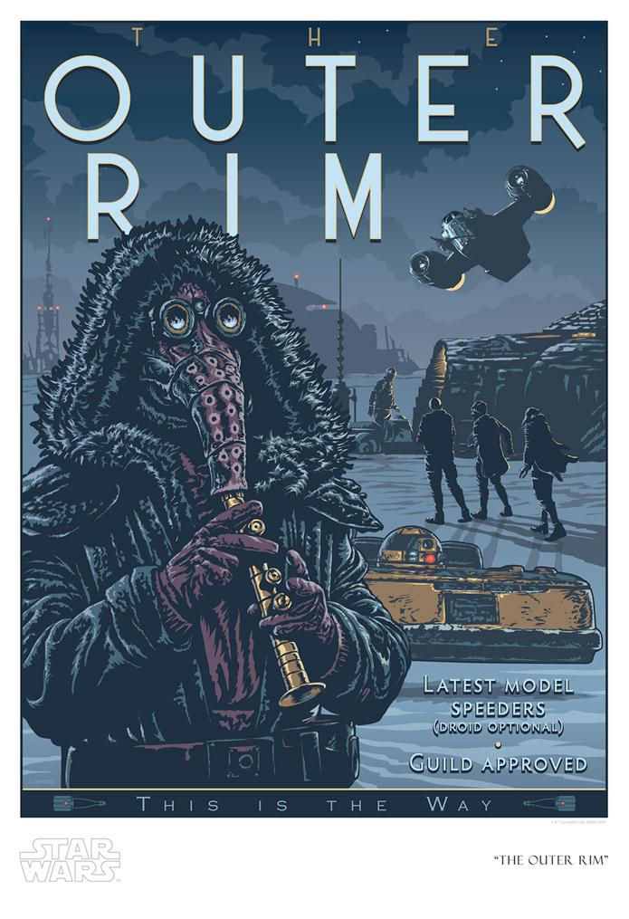 The Outer Rim - Artwork Star Wars - ACME Archives The_ou10