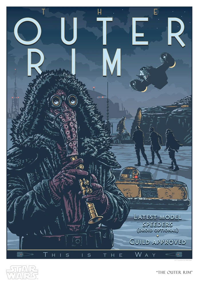 The Outer Rim - Artwork Star Wars - ACME Archives The_ou11