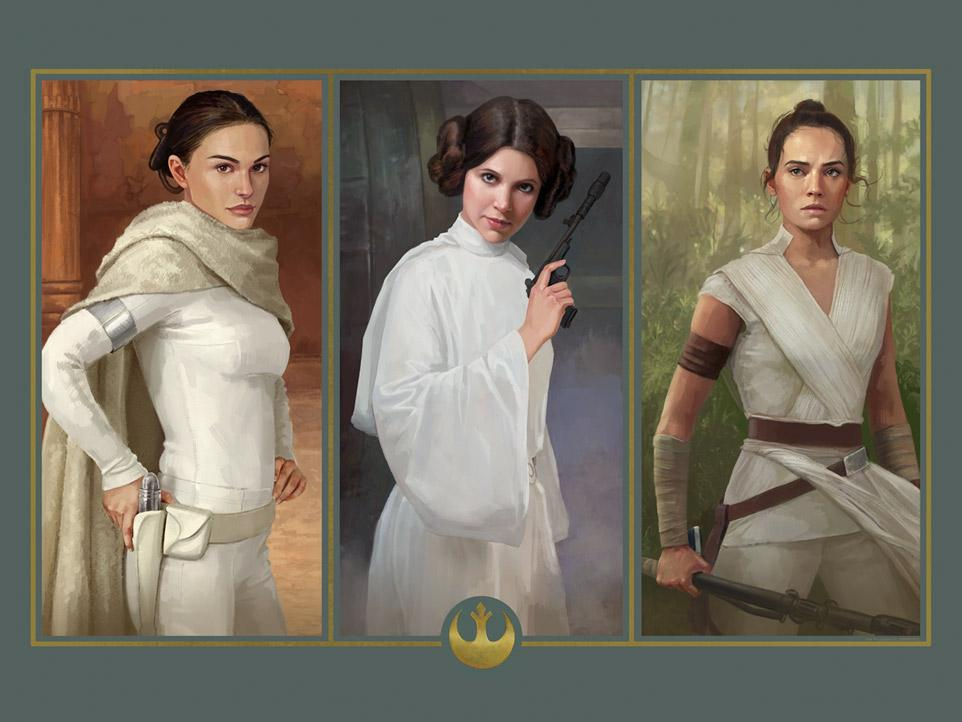 Throughout the Ages - Artwork Star Wars - ACME Archives Throug10