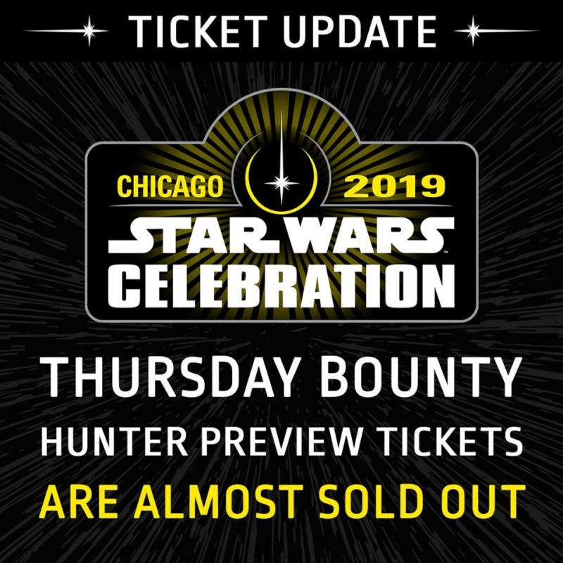 Star Wars Celebration 2019 - Chicago - 11-15 Avril 2019 Ticket10