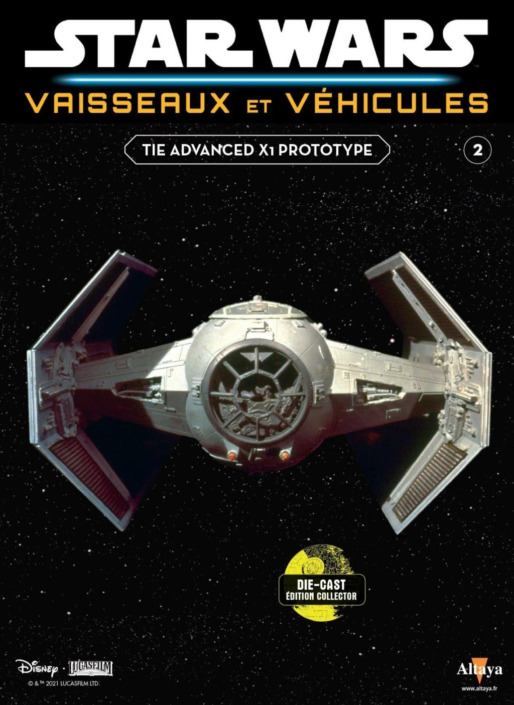 Collection Star Wars Vaisseaux et Véhicules - Altaya Tie_fa10