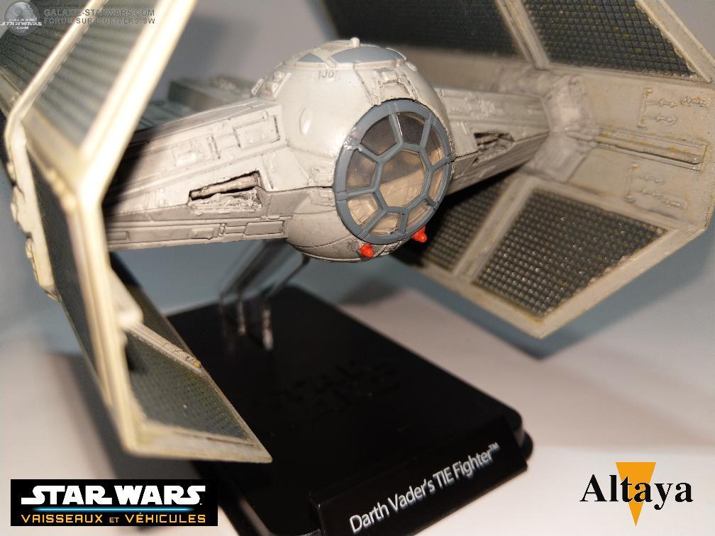 Collection Star Wars Vaisseaux et Véhicules - Altaya Tie_im15