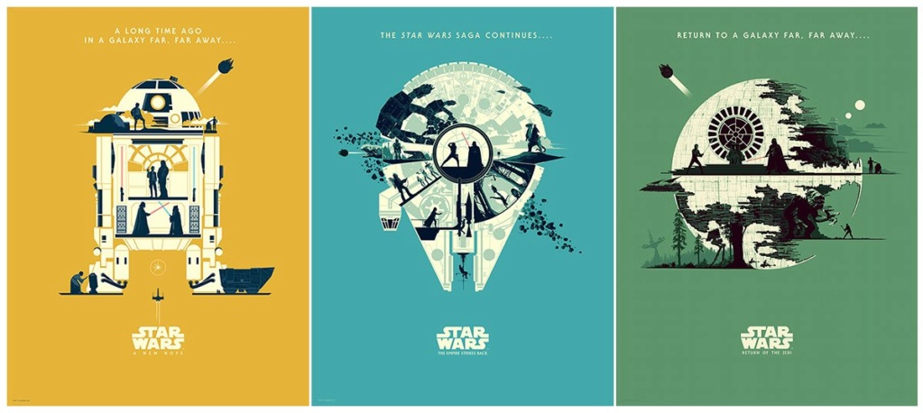 Artwork Star Wars - DARK INK - TRILOGIE BY FERGUSSON Trilog10