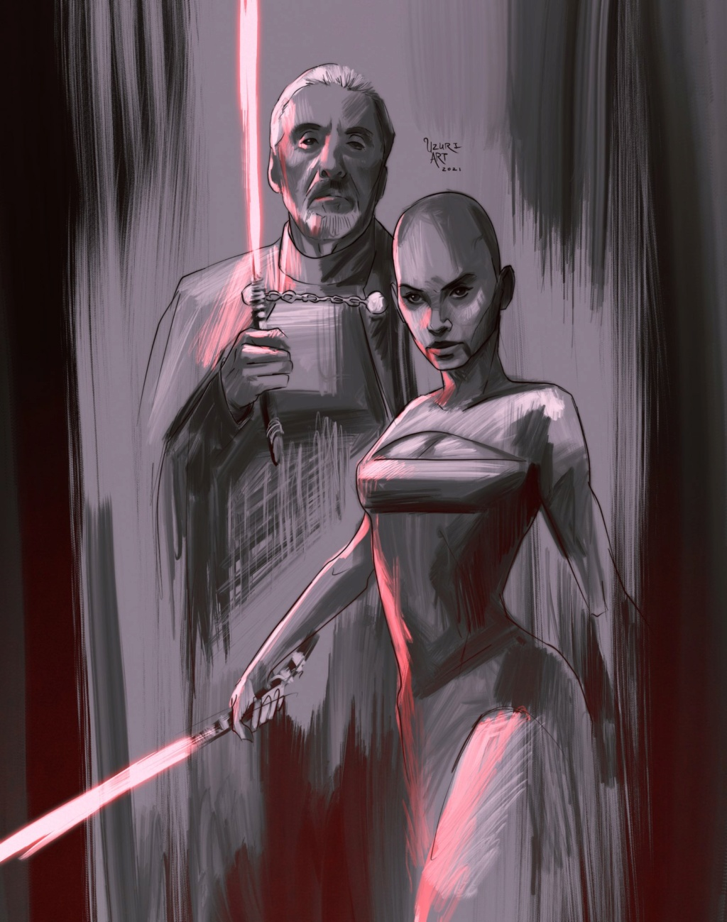 Digital Art par UZURI ART - Star Wars Uzuri_35
