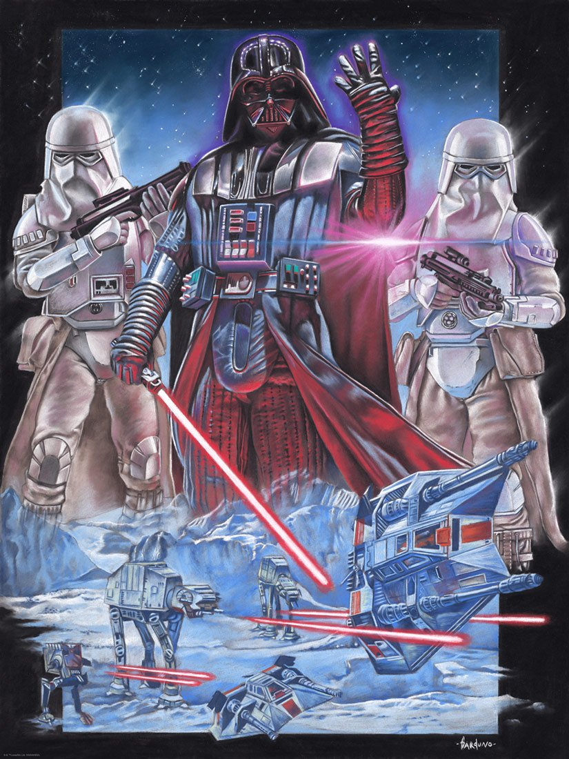 Vader at Hoth - Star Wars - ACME / Dark Ink Vader_25