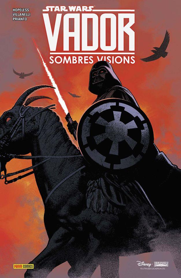 Star Wars Vador Sombres Visions - PANINI Vader_27