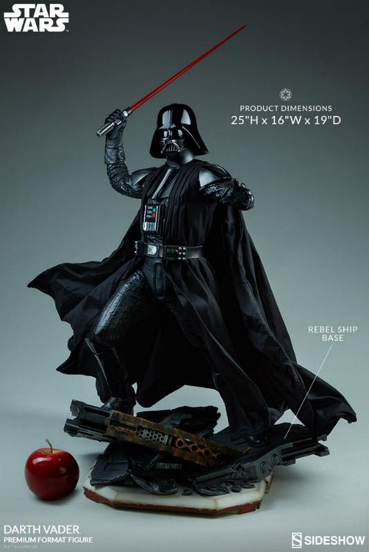 Sideshow - Darth Vader Rogue One - Premium Format Figure Vaderp12
