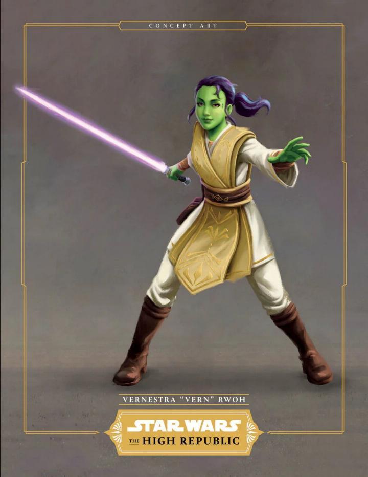 Star Wars La Haute République : Les Jedis & Padawans Vernes11
